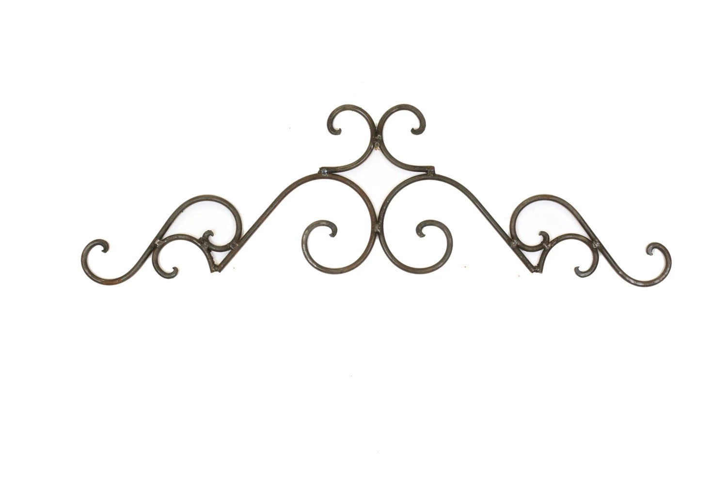 Tucson Iron Door Topper-Architectural Wall