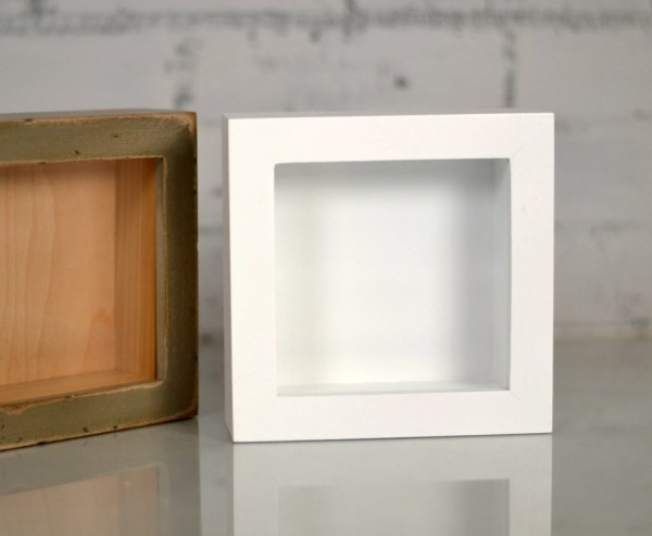 4 Inches Deep Shadowboxes Frames