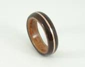 Bent Wood Ring -Ebony and...
