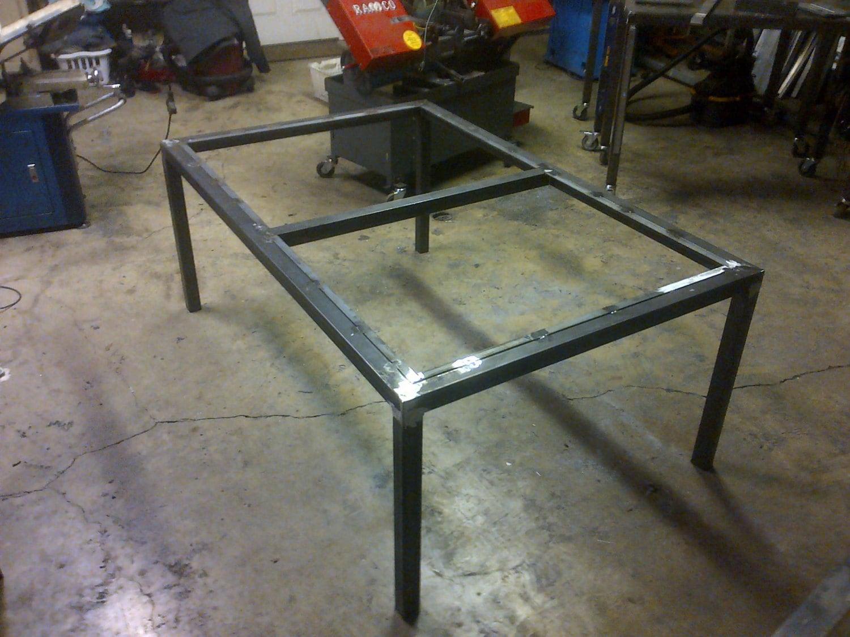 Steel Metal Table Frame