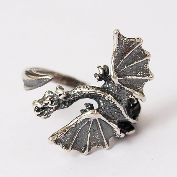 Dragon Ring Jewelry Silver 925