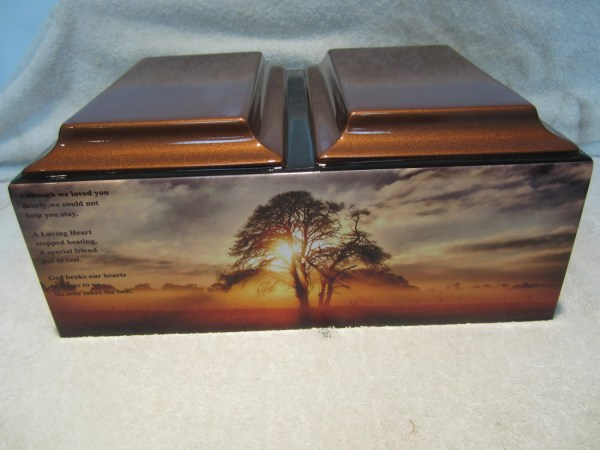 Double Companion Religious Christian Adult Memorial Urn