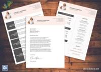 Lebenslauf/CV Vorlage Anschreiben fr MS Word Lebenslauf