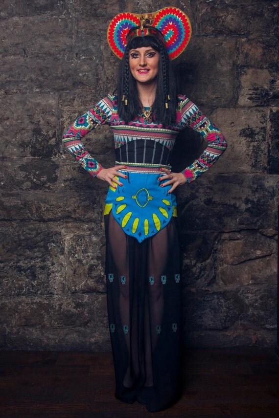 KatyPatra Katy Perry Egyptian inspired Costume Dark Horse