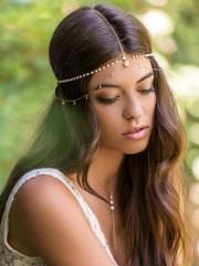 bohemian wedding hair accessory