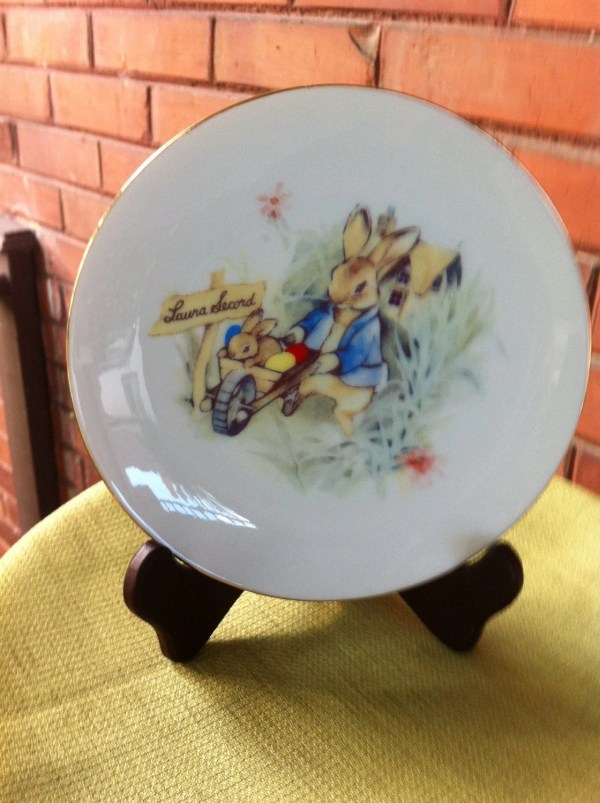 Vintage Collector Plates Easter