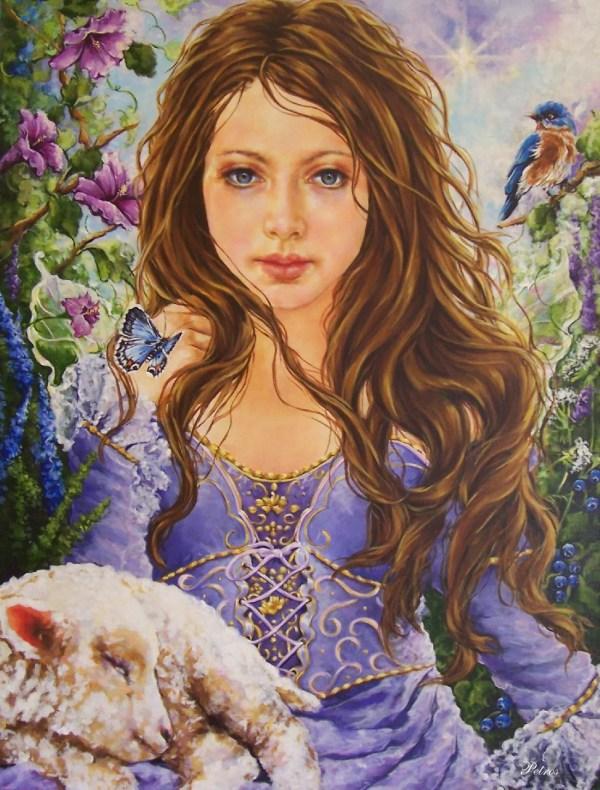 Beautiful Angels Art Paintings