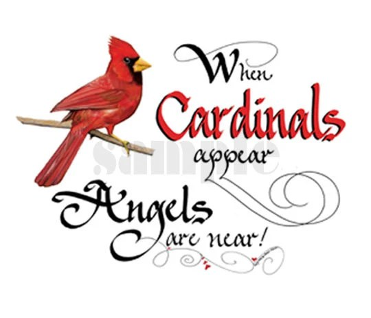 Items Similar To WHEN CARDINALS APPEAR 1170 On Etsy