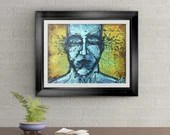 Expressions Signed Art Print of Signature Original By Rafi Perez