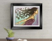 Strength From Within Signed Art Print of Signature Original By Rafi Perez