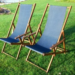 Antique Beach Chair Shabby Chic Covers Deck Chairs Price Reduced 2 Vintage By Violetrooster