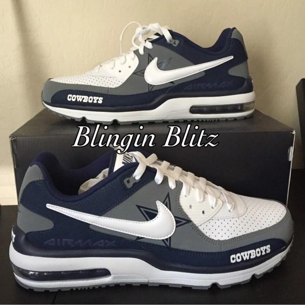 sports shoes 85ec8 56839 Air Max Dallas Shoes Cowboys Nike Shox Provincial