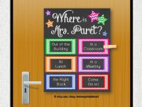 Custom Door Decoration School Counselor Gift by ...