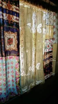 Shabby Chic Curtains Boho Drapes panels Hippie Hippy room
