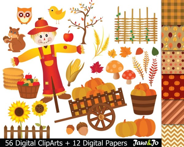 fall clipart harvest