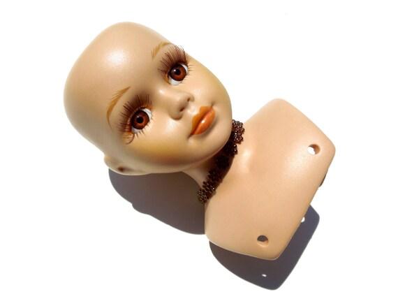 VINTAGE Porcelain Doll Head Doll Crafts Doll Making