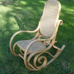 Bent Wood Rocking Chair Frank Gehry Cardboard Chairs Sale Bentwood Thonet Rocker