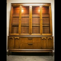 Mid Century Modern China Cabinet Hutch by MidCenturySacramento