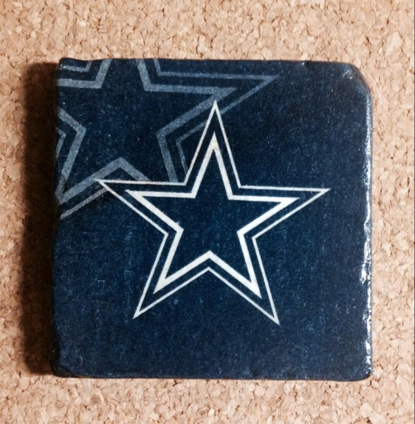 172af9a8562ce1 Turf Dallas Cowboys Coaster - Year of Clean Water