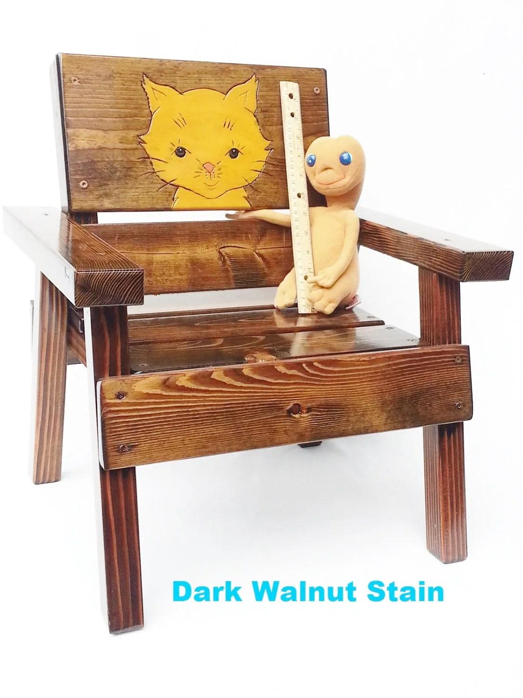 wood toddler chair cover rental vaughan outdoor kids childrens furniture engraved folk