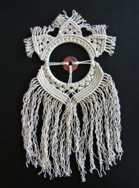 Macrame wall hanging art. Woven wall hanging Round by ...