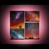 Paintings on Canvas Spray Paint Art Personalized by ...