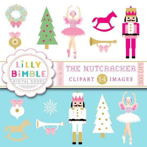 Nutcracker Christmas Tree Clipart.20 Christmas Clip Art Ballet Ideas And Designs