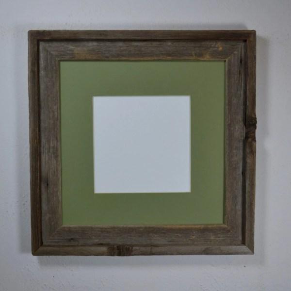 Frame Wood 12x12 With Mat 10x10 8x8 Barnwood4u