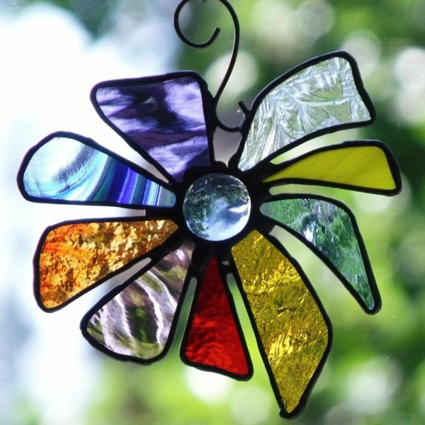 Stained Glass Art Suncatchers Window And