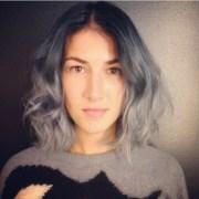 short silver wig