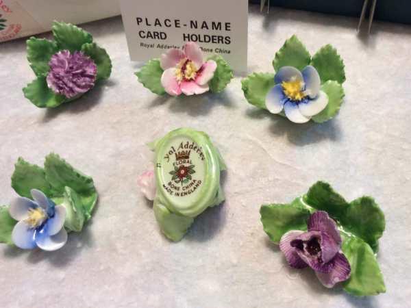 Vintage Royal Adderley Bone China Flower Floral Place