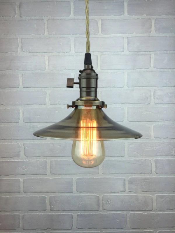 Industrial Glass Pendant Lighting