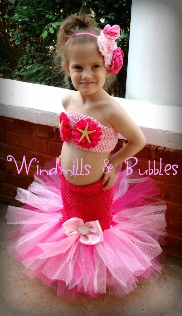 Little Mermaid Inspired Tutu Dress