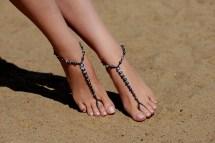 Beaded Barefoot Sandals Beach Wedding