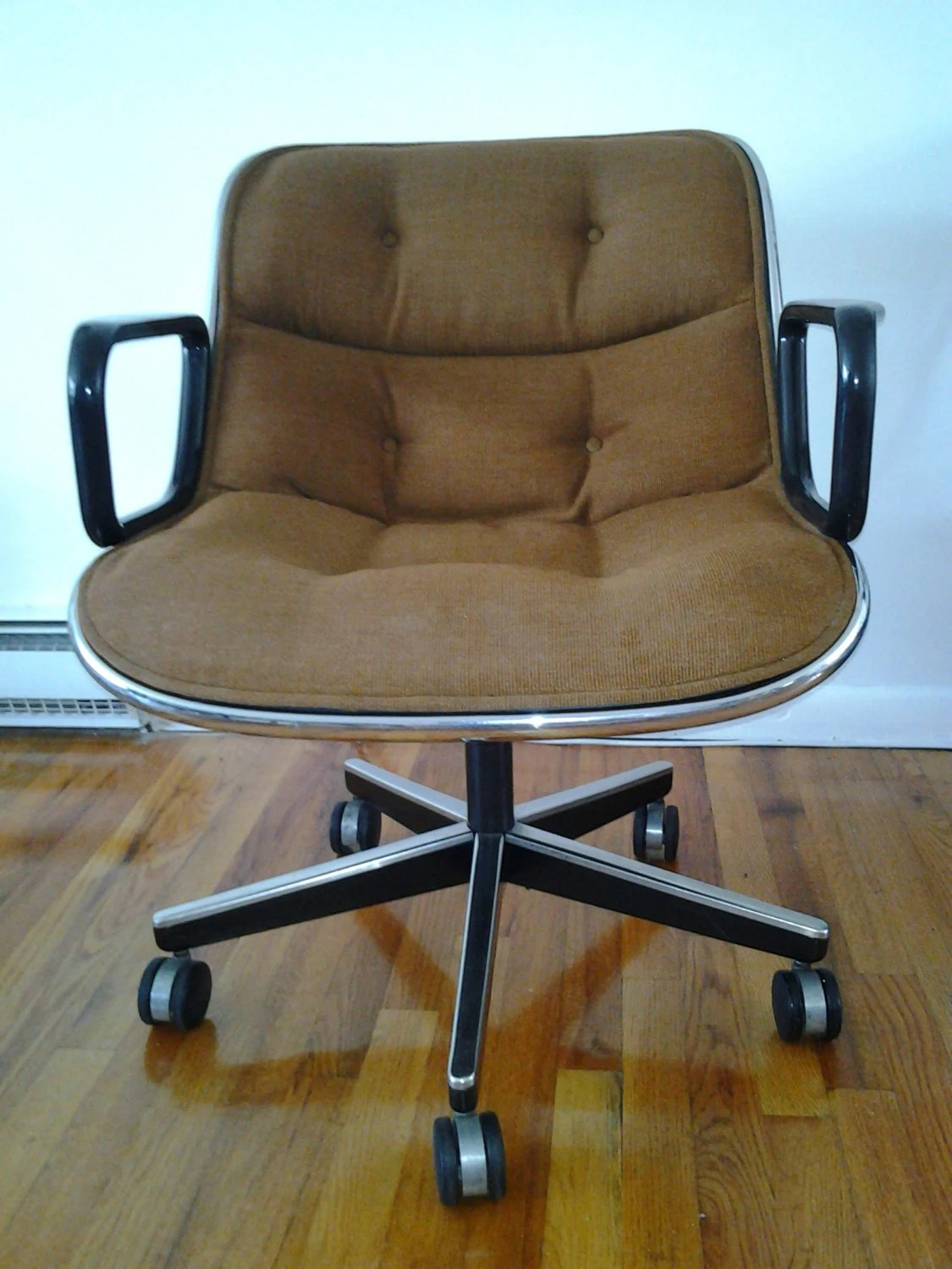 Mid Century Modern Office Chair Mid Century Modern Charles Pollock For Knoll Office Chairs In