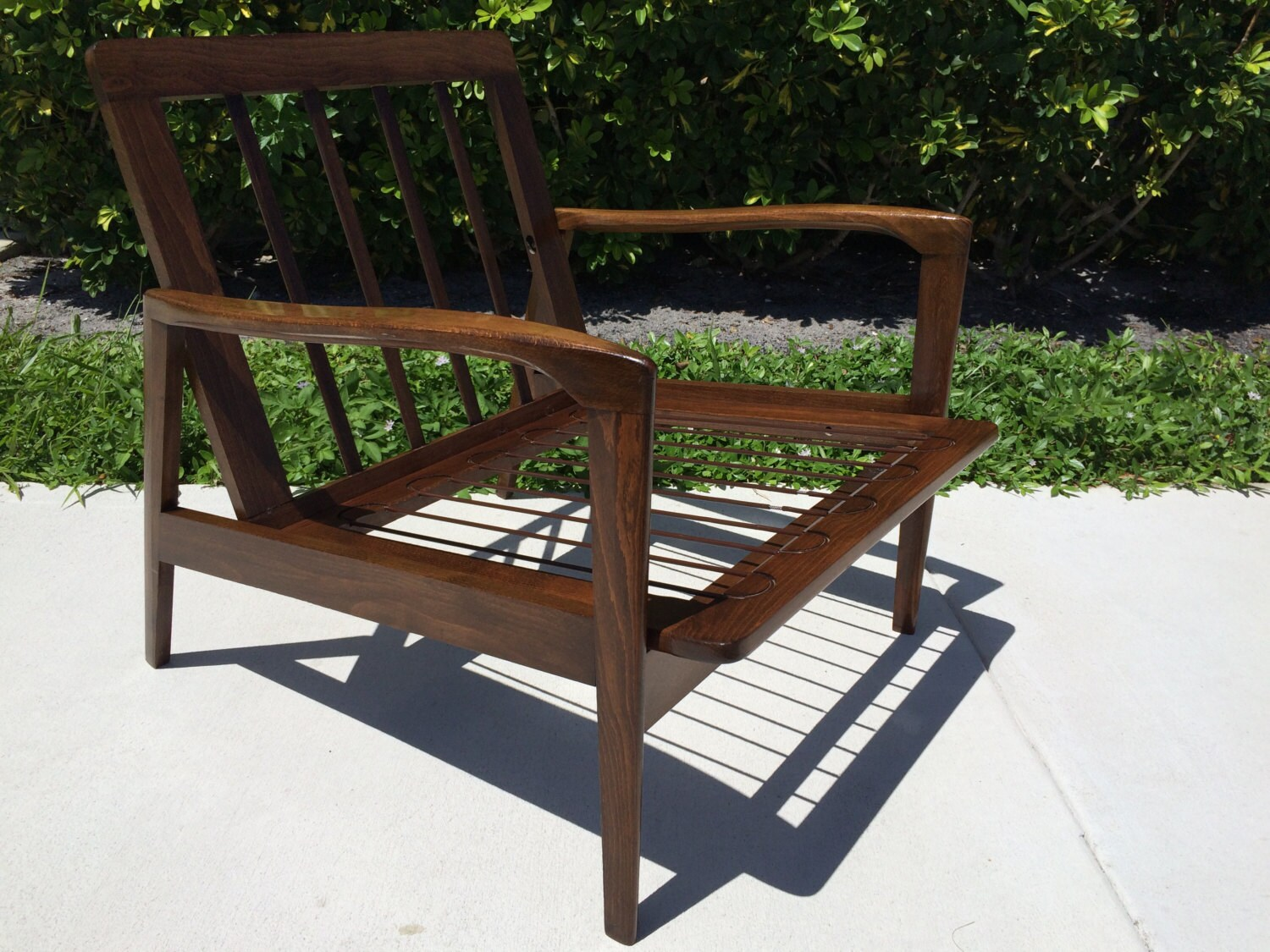 yugoslavian folding chair metal rocking chairs outdoor uk vintage mid century modern lounge signed made in