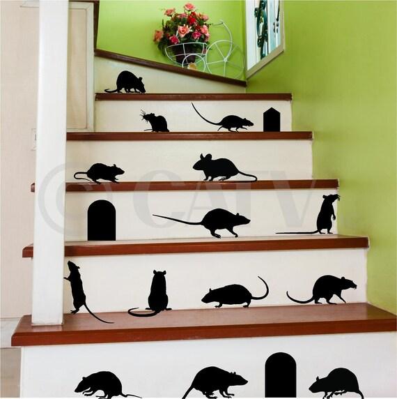 Halloween Rat Decals