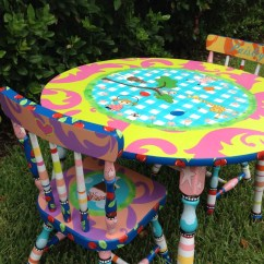 Little Girls Chairs Outdoor Wood Rocking Chair Girl Table And For By