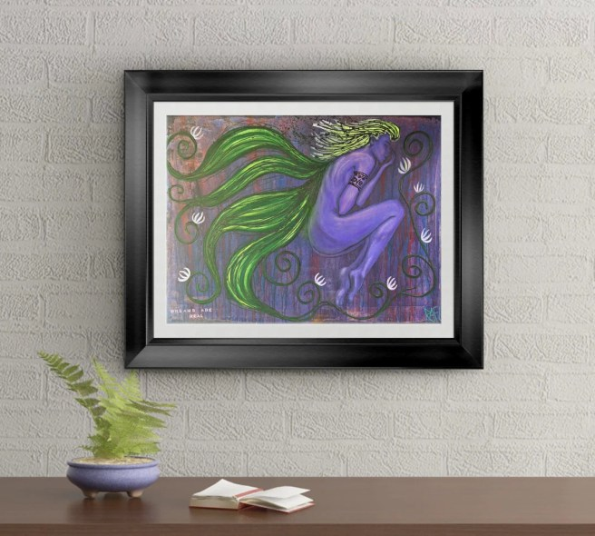 Dreams Are Real Signed Art Print of Signature Original By Rafi Perez