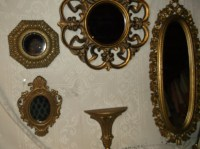 Wall Mirror Grouping Vintage Mirror Grouping