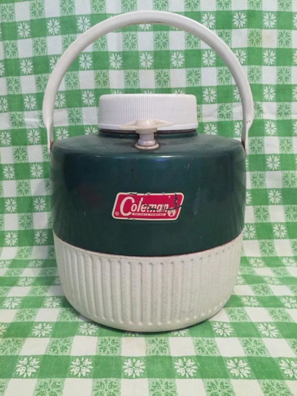 Vintage Coleman 1 Gallon Jug Green In Usa Picnic
