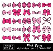 pink bows clipart 35 bow
