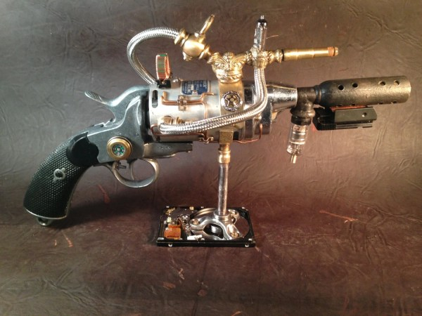 Sold Custom Orders Steampunk Gun Ray