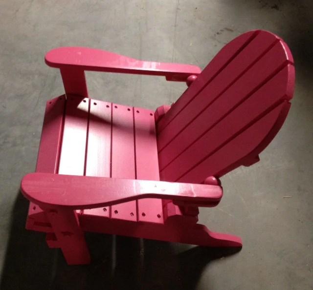 toddler adirondack chair hanging for baby children's folding