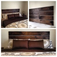 Items similar to Floating Headboard....No drilling ...