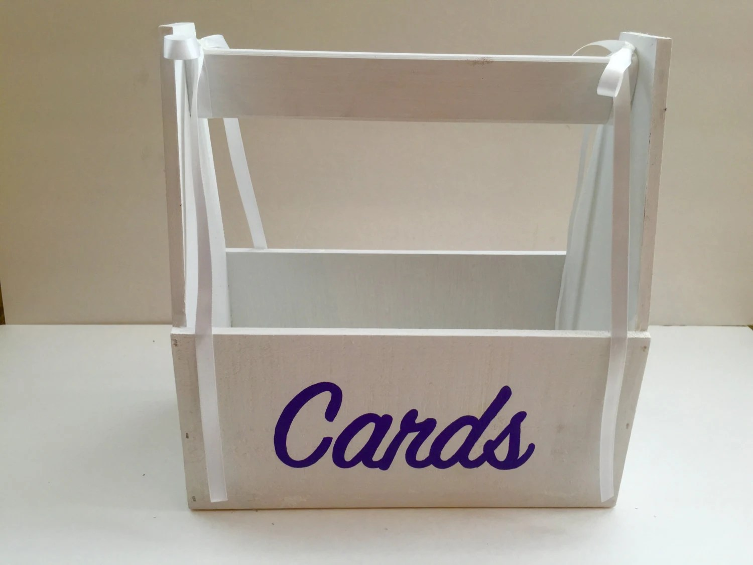 Card Box Wedding Reception Cards Gift Table Customizable In