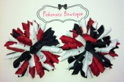 hair bow korker set red
