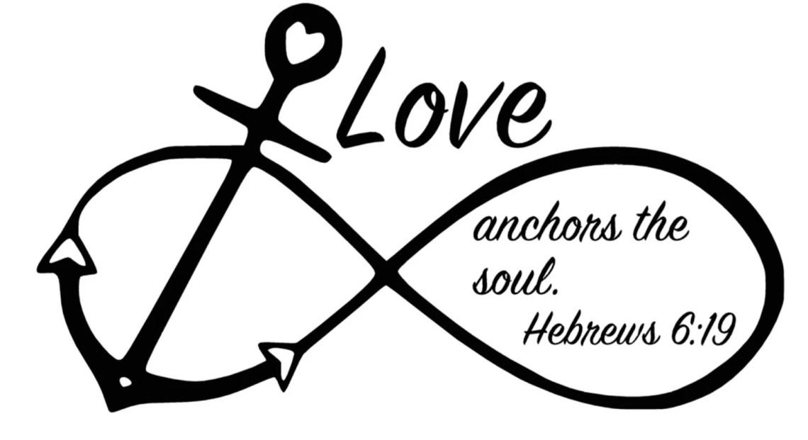 Download Anchor Infinity symbol Love Anchors the Soul Hebrews 6:19