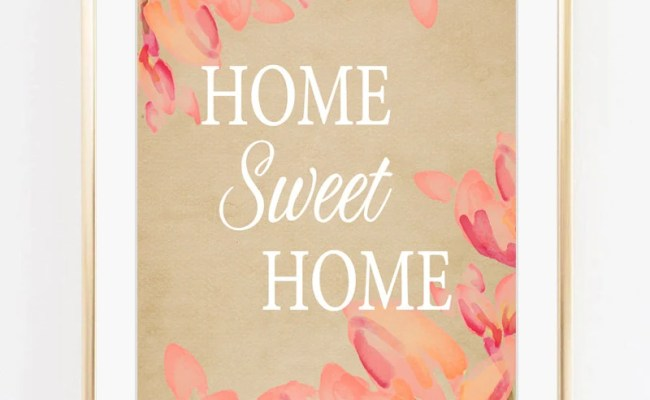 Home Sweet Home Wall Decor Etsy
