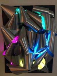 Ultra modern 3D wall art with glowing lights